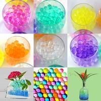 Lot de 24 sachets billes d'eau hydrogel déco tables mariage floral plantes DBE1