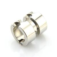 Fausse boucles d'oreilles créoles clip bo non percées BOSC1 Acier 13 mm