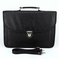 Serviette cartable sacoche ordinateur portable imitation cuir SB836 Noir