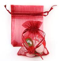 200 sachets organza emballage dragées bijoux SO79 Bordeaux