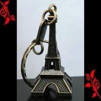 Souvenir de paris portes clés clef Tour Eiffel bronze revendeur association grossiste TEB