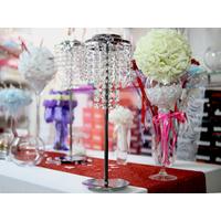 Support boule de rose centre de table des marié mariage DSP45