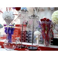 Support boule de rose centre de table des marié mariage DSP55