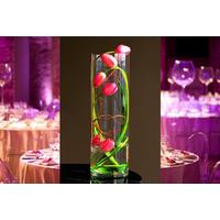 Grand vase cylindrique 60 cm déco mariage VSC60