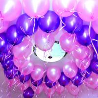 100 ballon de baudruche gonflables pour décoration salle mariage baptême BLO2