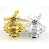 50 Boîtes à dragées diamant plexi sur pied mariage BTD23