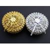 50 boîtes à dragées métallisés rondes orientales mariage BTD35