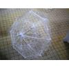 Ombrelle dentelle blanche mariage MPA1
