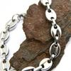 Bracelet acier maille grain de café homme BRS27
