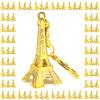 Souvenir de paris porte clés clef tour Eiffel doré revendeur association TED