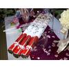 10 canons à confettis pétales de rose CNP3