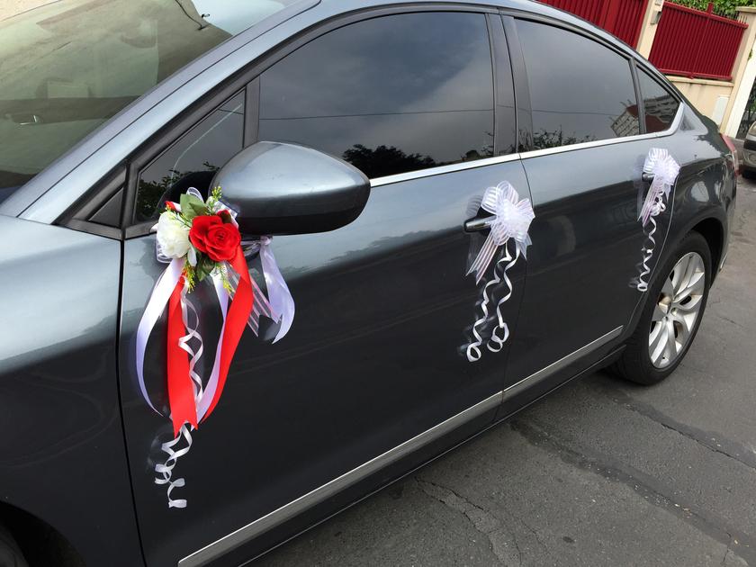 kit d coration mariage pour voiture complet tout en un mkt1 mariage bapt me f te. Black Bedroom Furniture Sets. Home Design Ideas