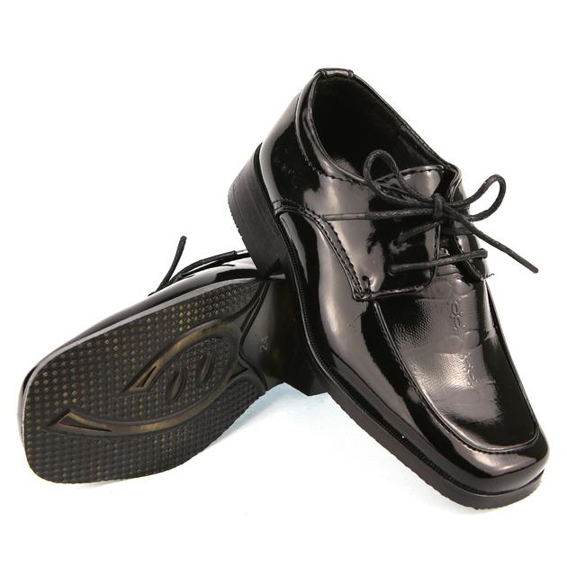 chaussure derby enfant gar on pour c r monie mariage 24 au 37 c901 noir verni chaussures. Black Bedroom Furniture Sets. Home Design Ideas