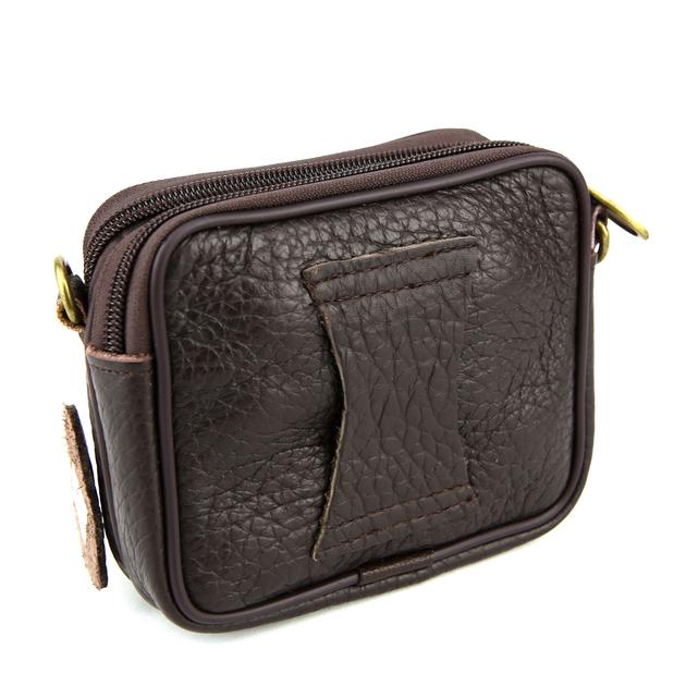sac pochette bandouli re ceinture cuir vachette homme sb8901 marron maroquinerie pochette. Black Bedroom Furniture Sets. Home Design Ideas