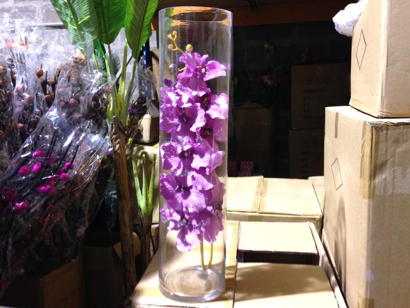 grand vase cylindrique 60 cm d co mariage vsc60 d co mariage fete vendu en magasin vase vase. Black Bedroom Furniture Sets. Home Design Ideas