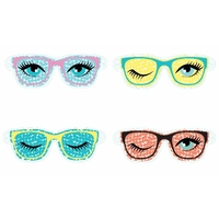 Masque yeux relaxant lunettes