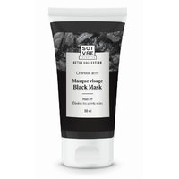 BLACK MASK 50 ml - Masque visage au charbon actif végétal - Collection DETOX