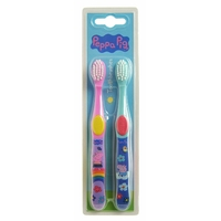 Brosses à dents Peppa Pig - Lot de 2