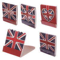 LONDON Lot de 4 Pochettes de mini limes à ongles