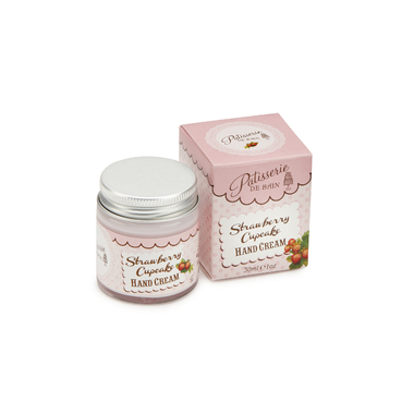 PB081 Strawberry Cupcake Hand Cream Jar