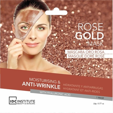 ROSE GOLD foil mask 3432
