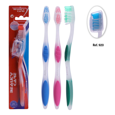 Brosses à dents Adultes Deep Clean x4