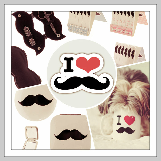 Collection Beauté I love Moustache
