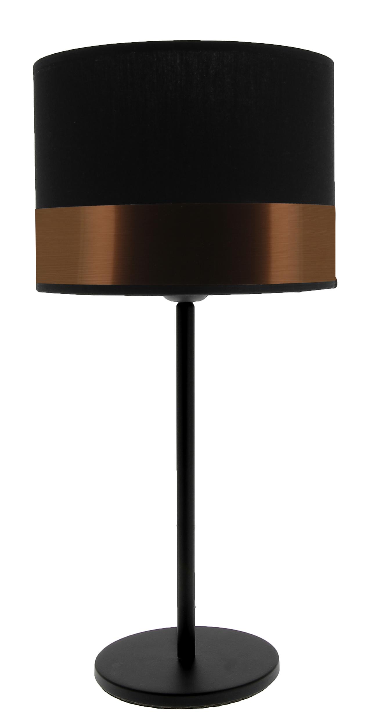 Lampe Max noir/cuivre
