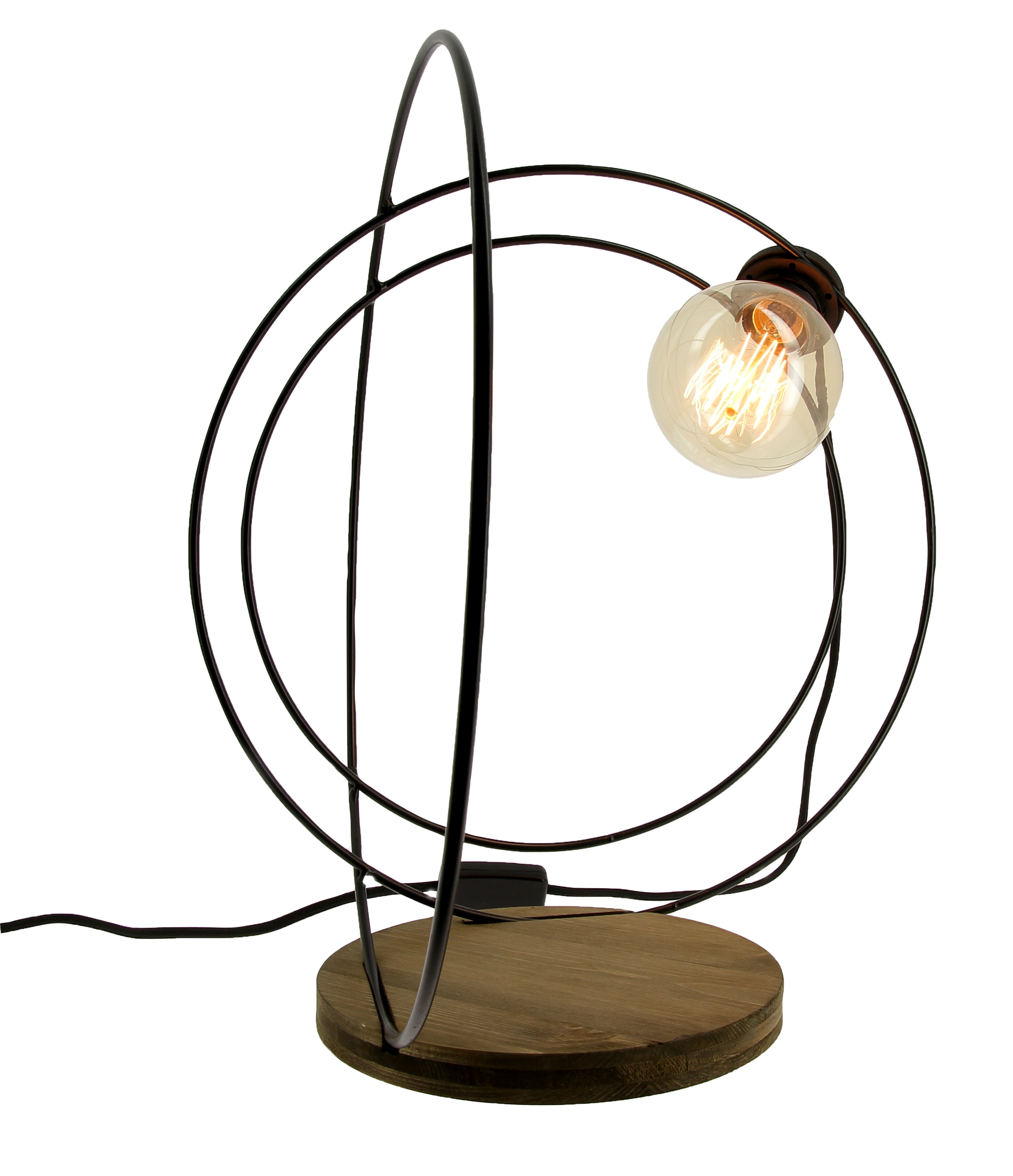 Lampe à poser Orbe noire