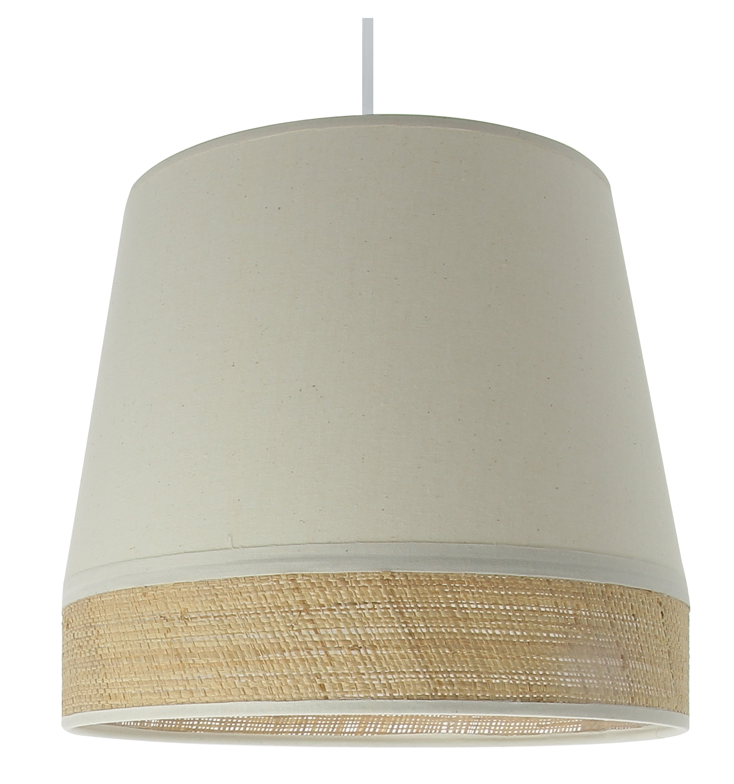 Suspension Manon tambour naturel