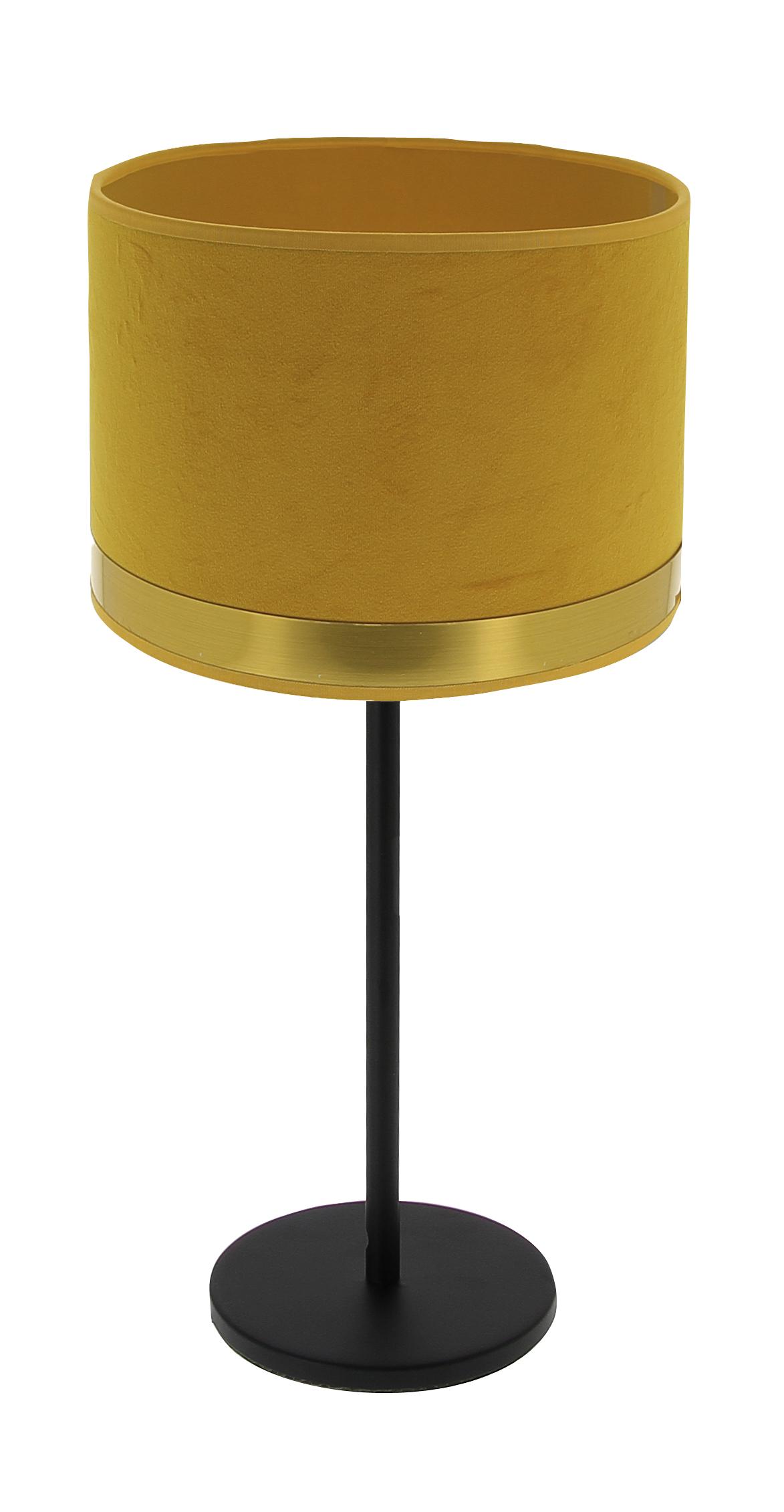 Lampe Max Art Déco jaune / Laiton