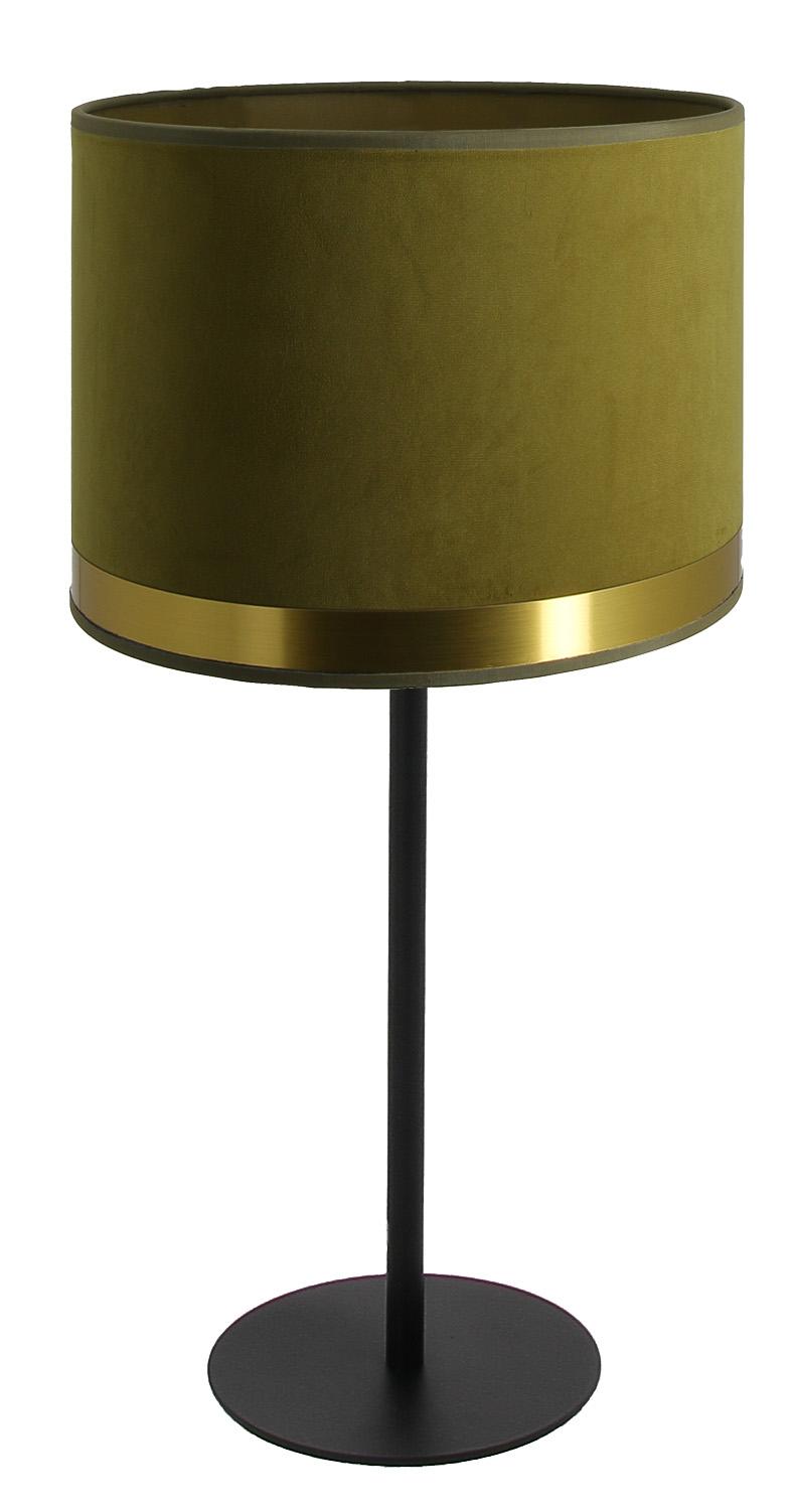 Lampe Max Art Déco vert verveine / Laiton