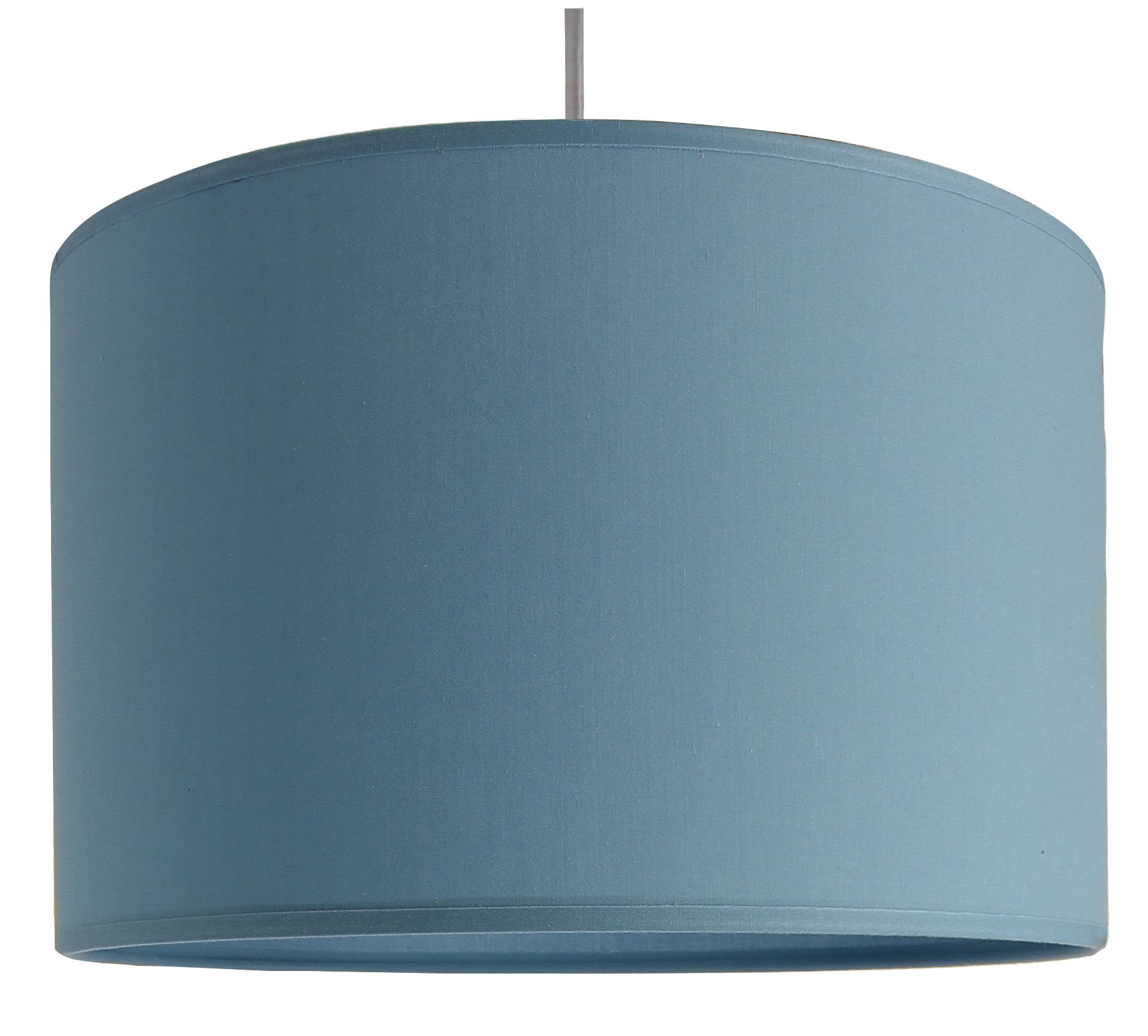 Suspension cylindre bleu baltique D29 cm