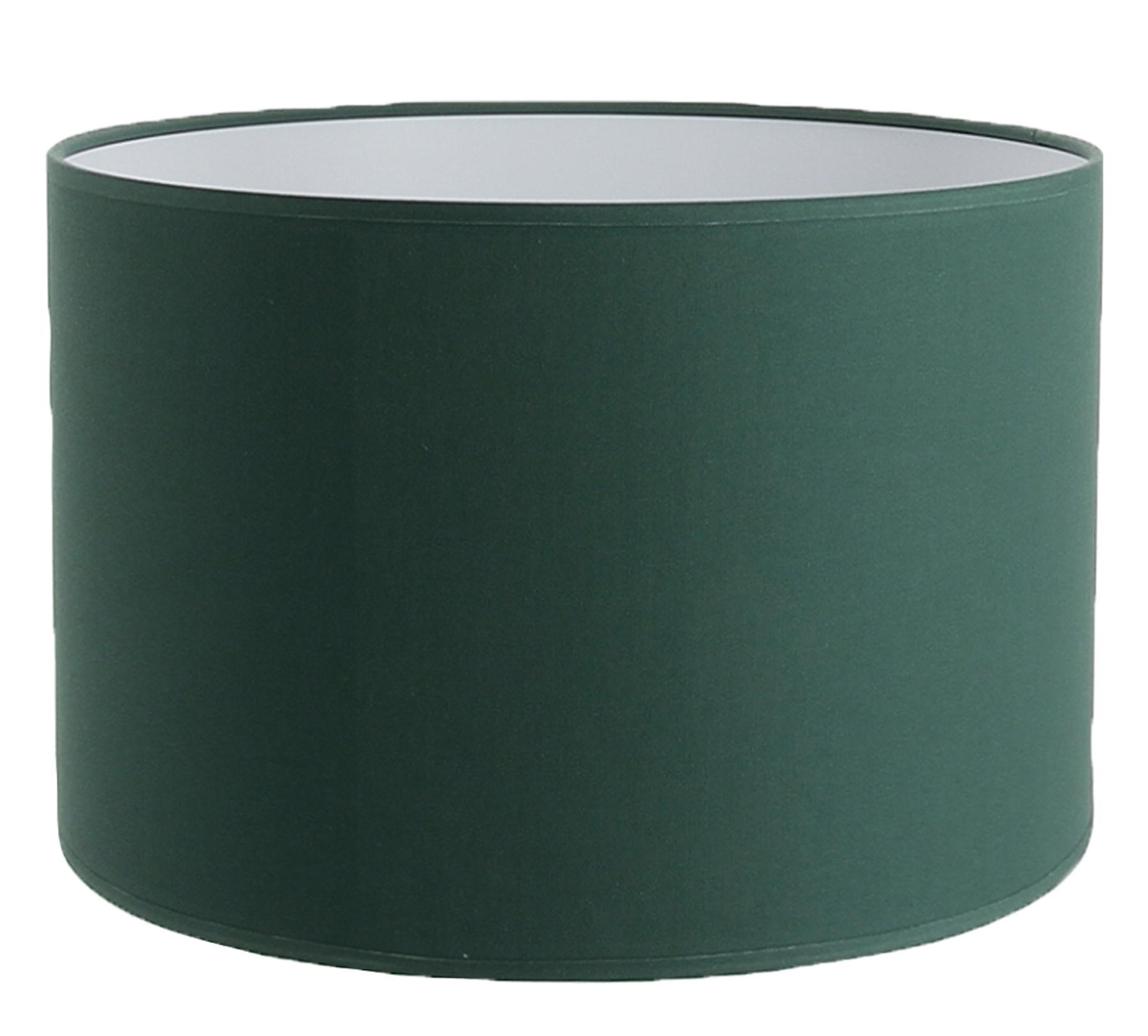 Abat-jour cylindre vert tropique
