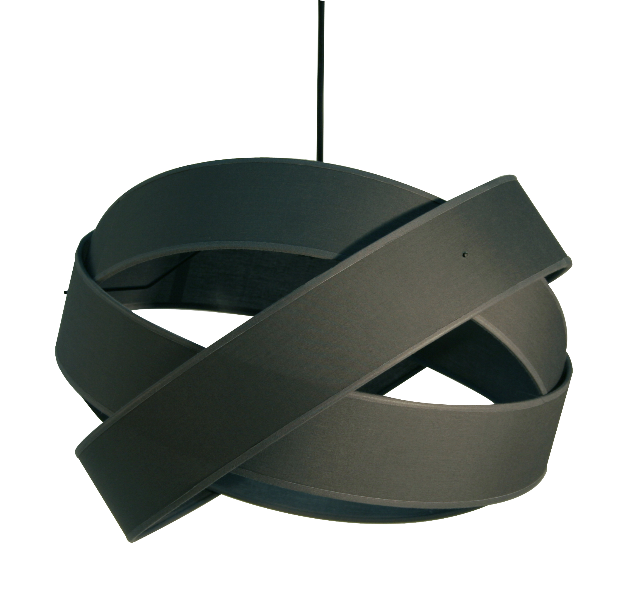 Suspension originale tissu gris metropolight vente en for Suspension grise