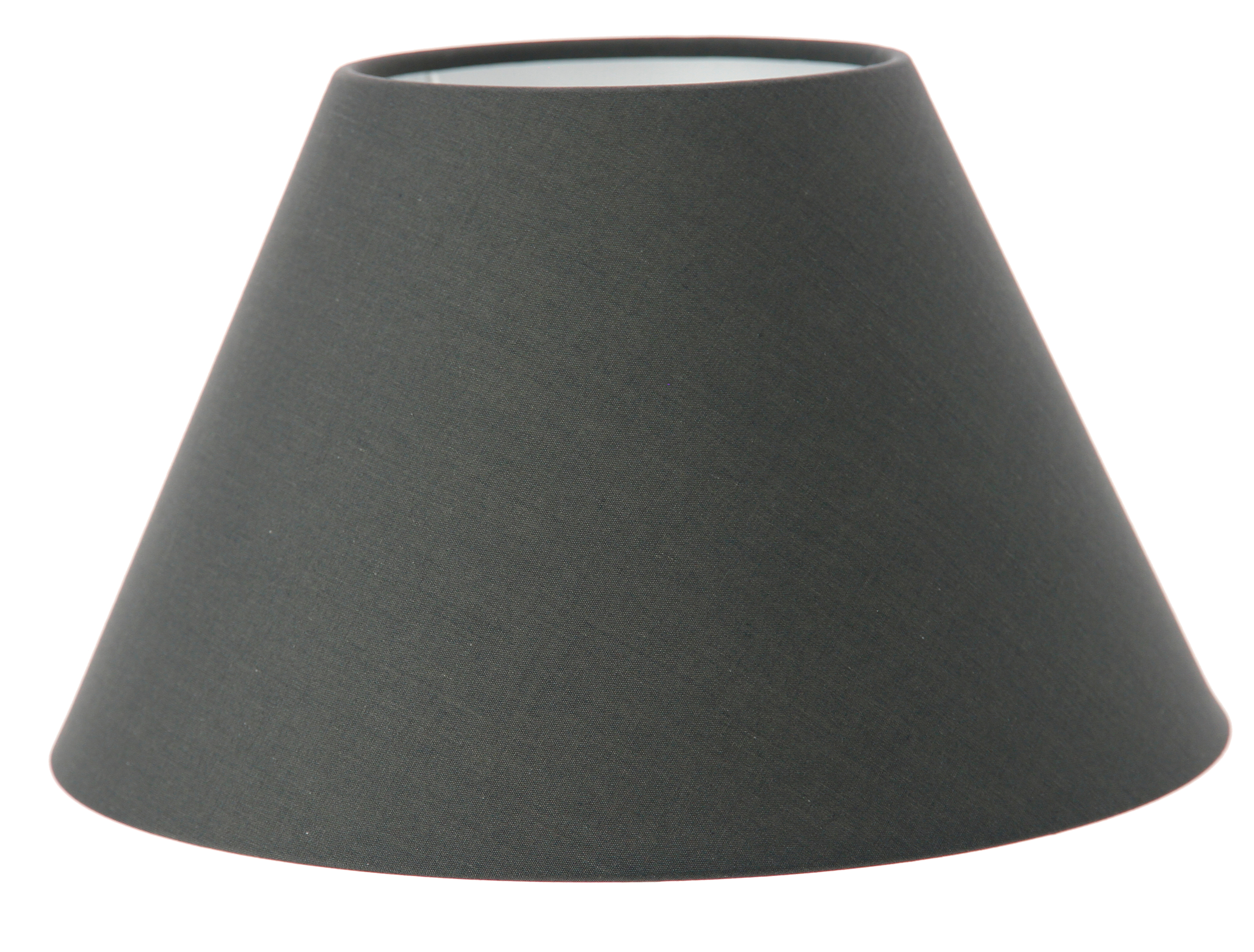 Abat-jour gris anthracite forme empire
