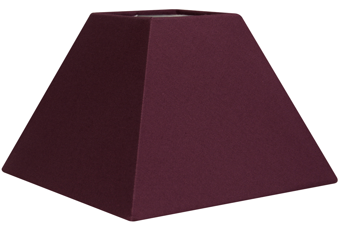abat jour pyramide violet metropolight vente en ligne abat jour forme pyramidale violet. Black Bedroom Furniture Sets. Home Design Ideas