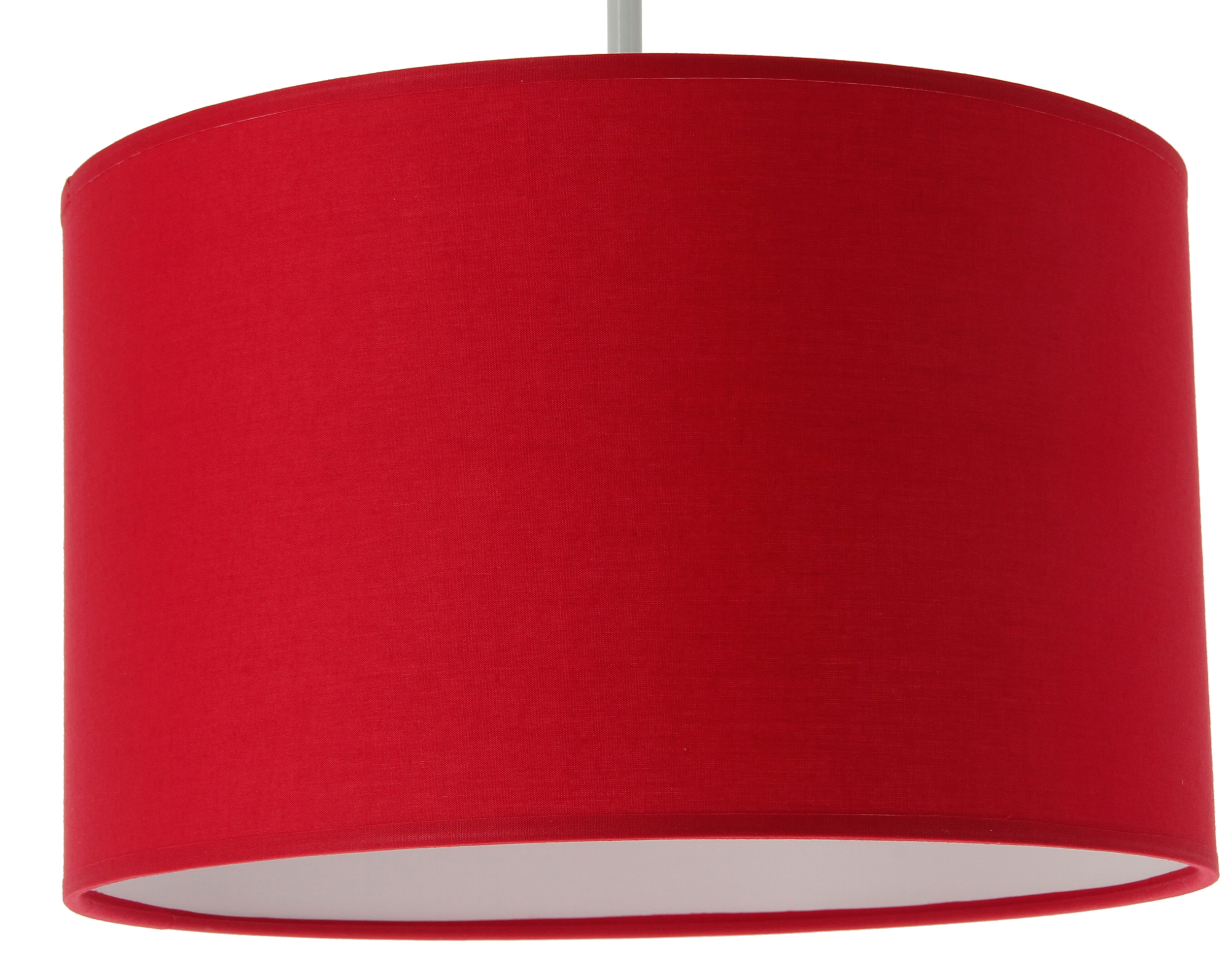 Suspension Cylindre Coton Rouge