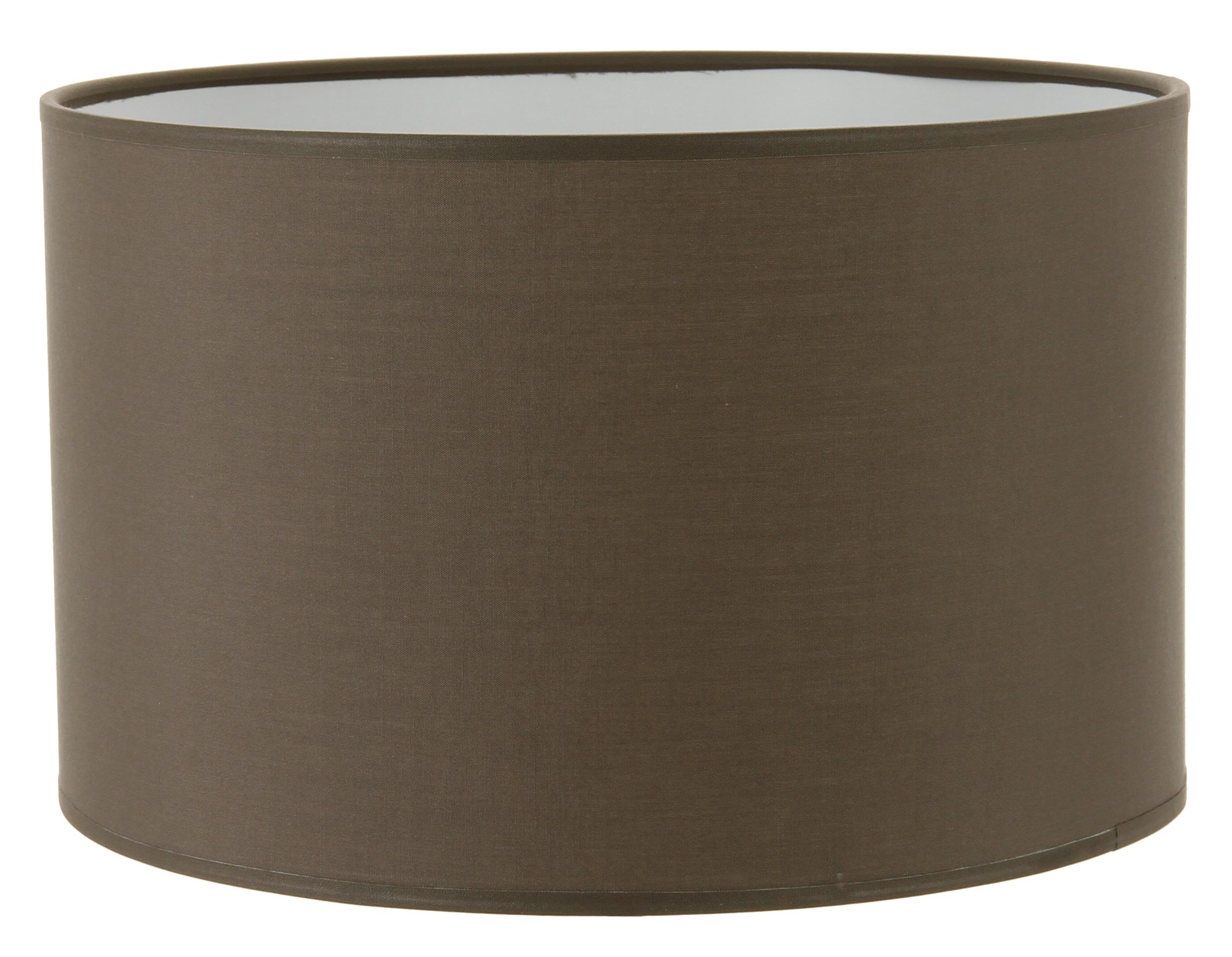 Abat-jour cylindre gris poivre