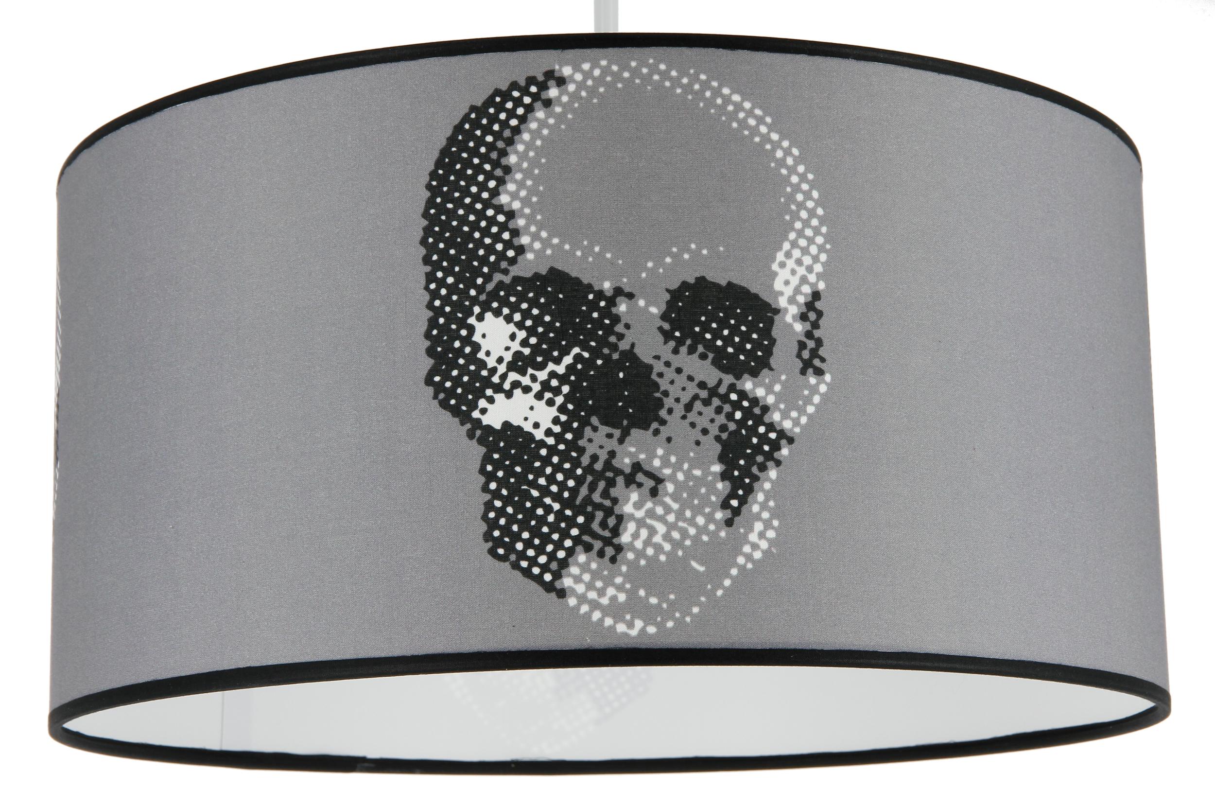Suspension Cylindre Skull Tête de mort