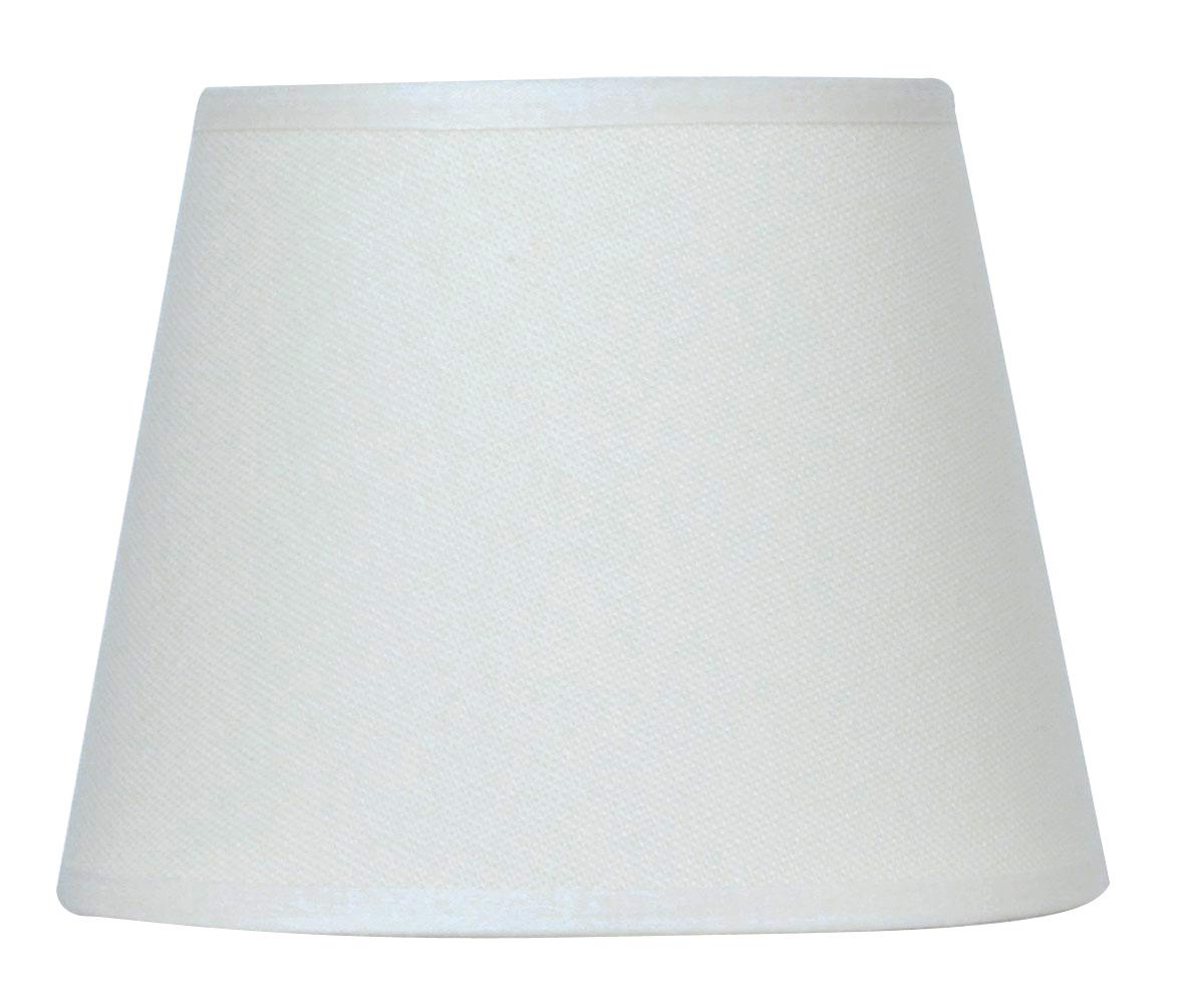 Abat-jour à pince blanc diamètre 14 cm