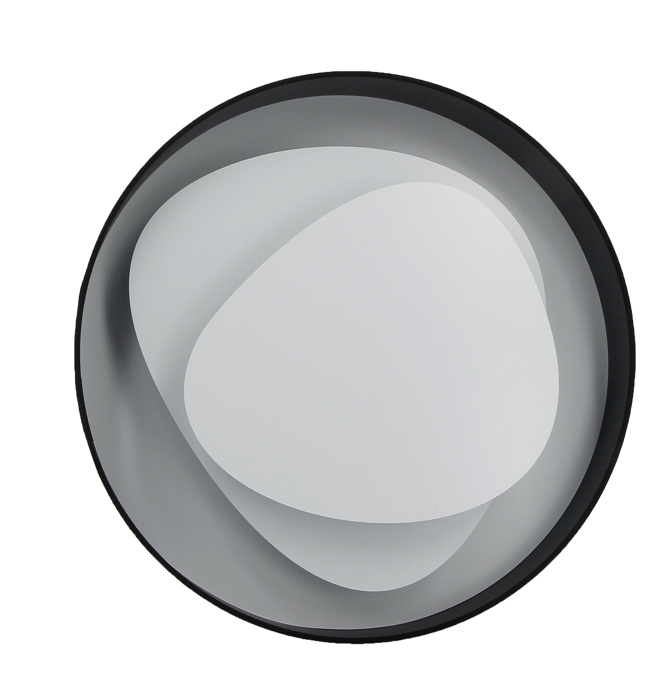 Applique LED Design BRUME Noire 39 cm