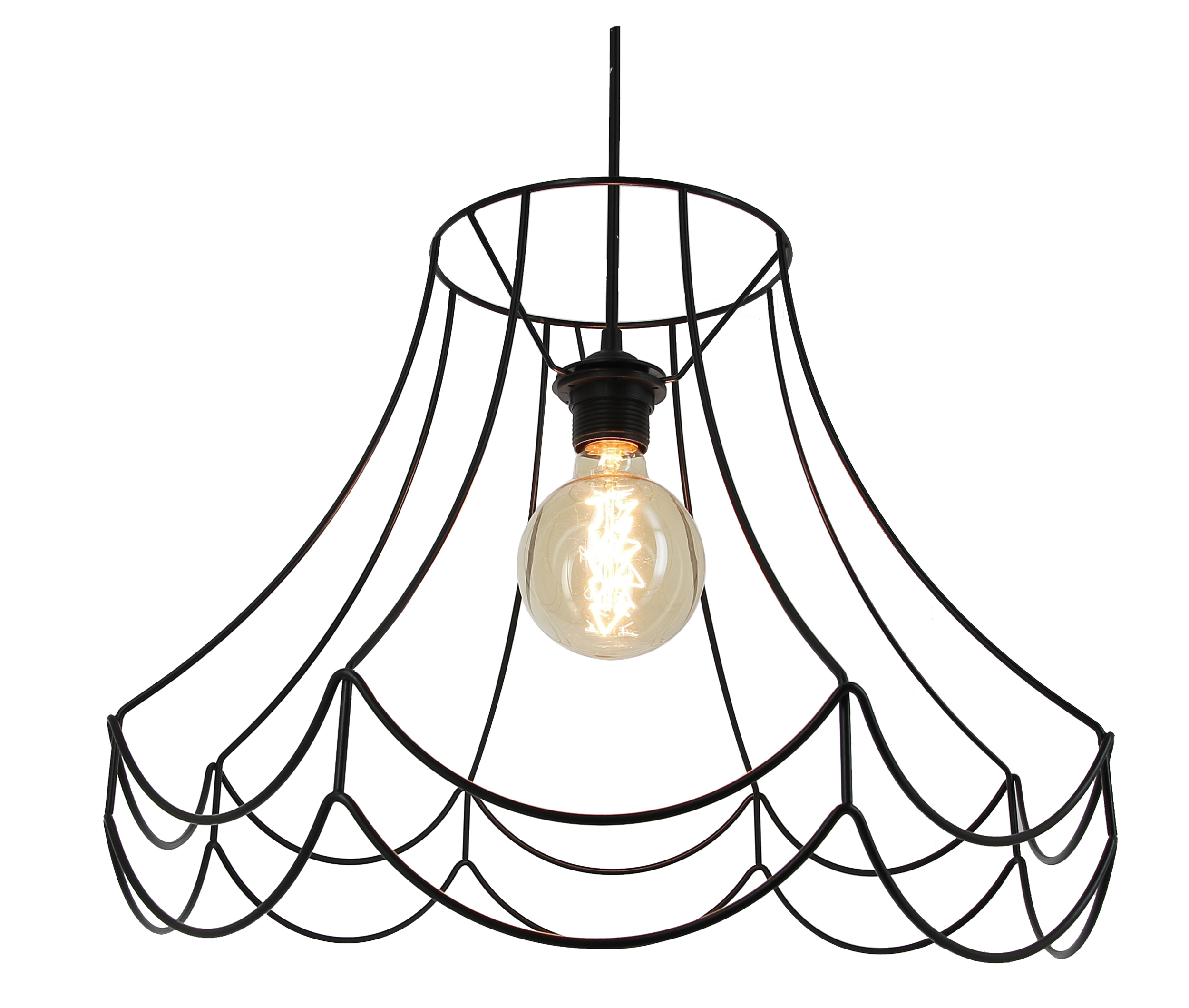 suspension filaire noire elegant suspension design. Black Bedroom Furniture Sets. Home Design Ideas