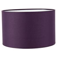 Abat-jour cylindre violet