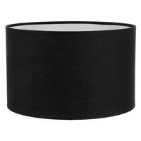 Abat-jour cylindre noir