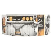 Applique 1/2 cylindre Penn Station Grand modèle