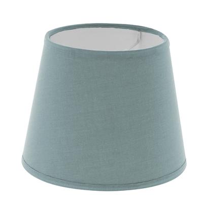 Abat-jour à pince bleu baltique diamètre 14 cm