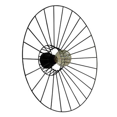 Applique Plafonnier Othilie 58 cm noire