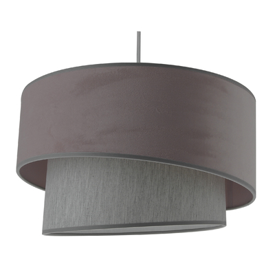 Suspension Ionos Velvet rose gris