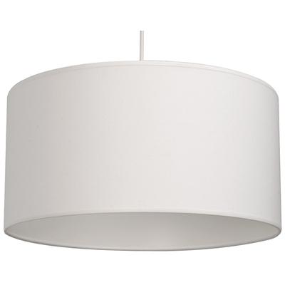 Suspension cylindre blanc moyen modele